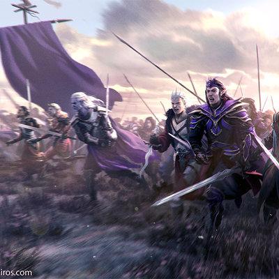 Joshua cairos to the battle