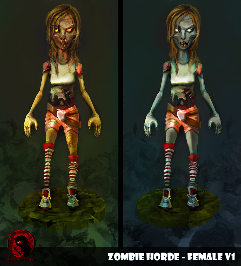 Frank pusateri zombies female front