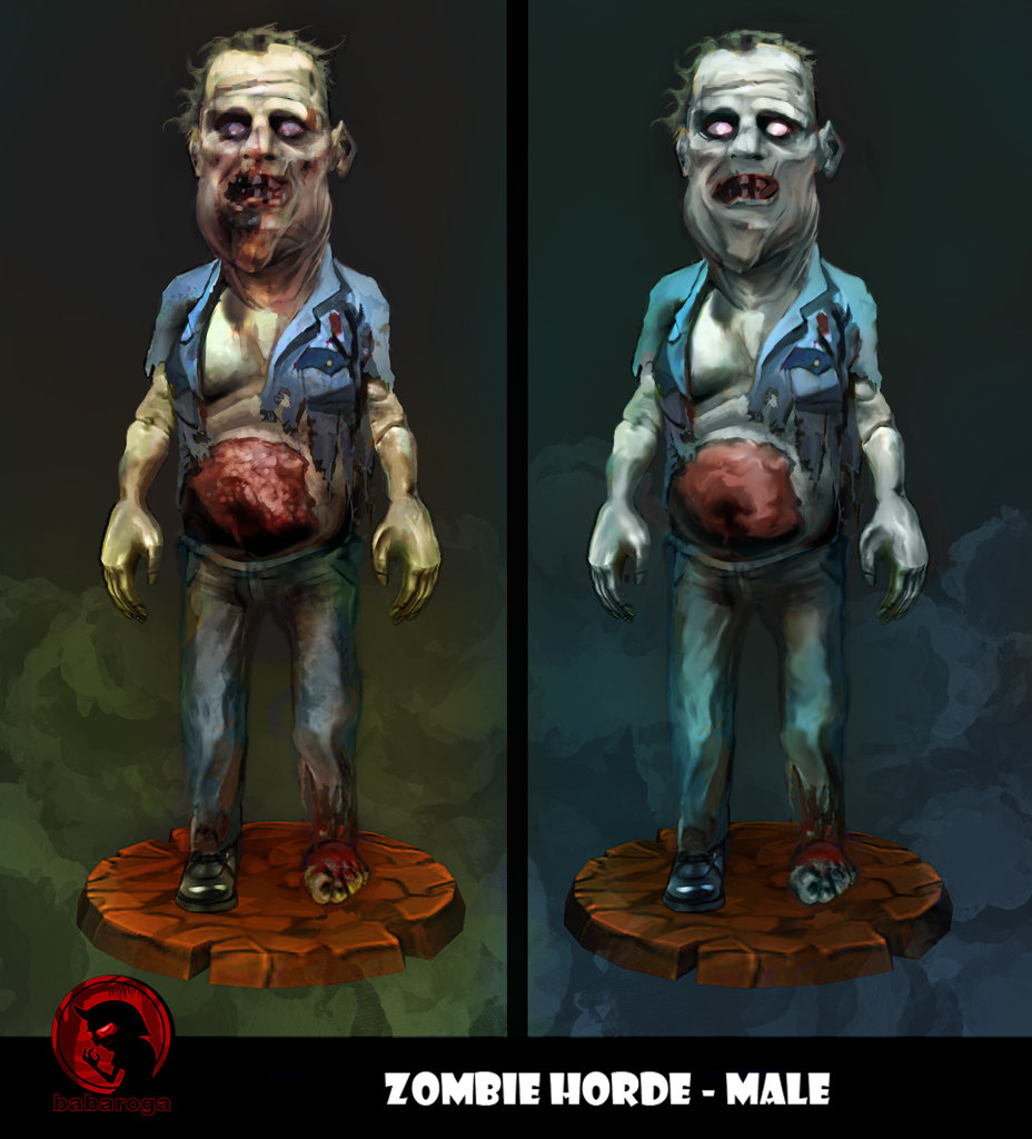 Frank pusateri zombies male2 front