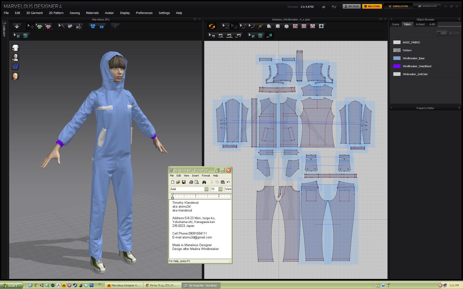 Timothy klanderud digital clothes and patterns for Digital blueprint maker