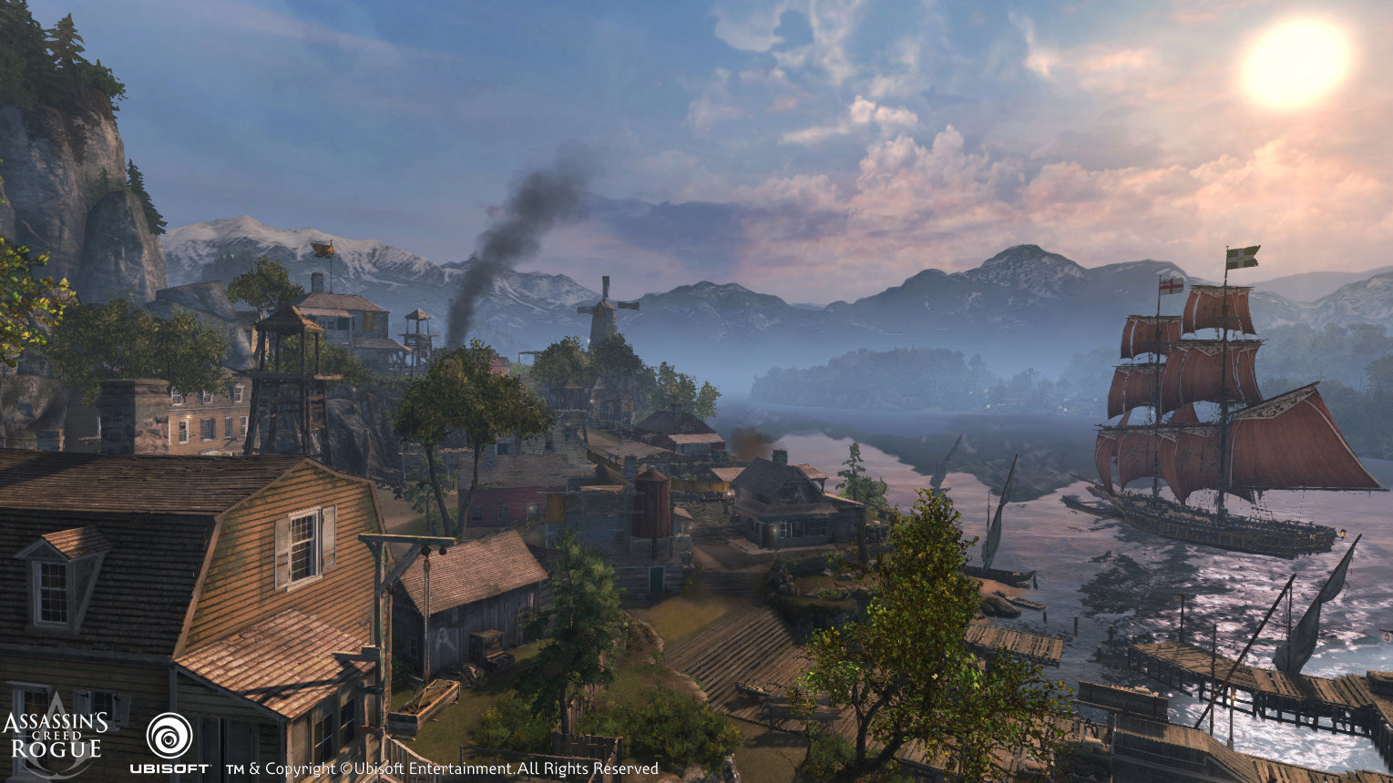 Assassin's Creed Rogue : River Valey's Two Bends HQ