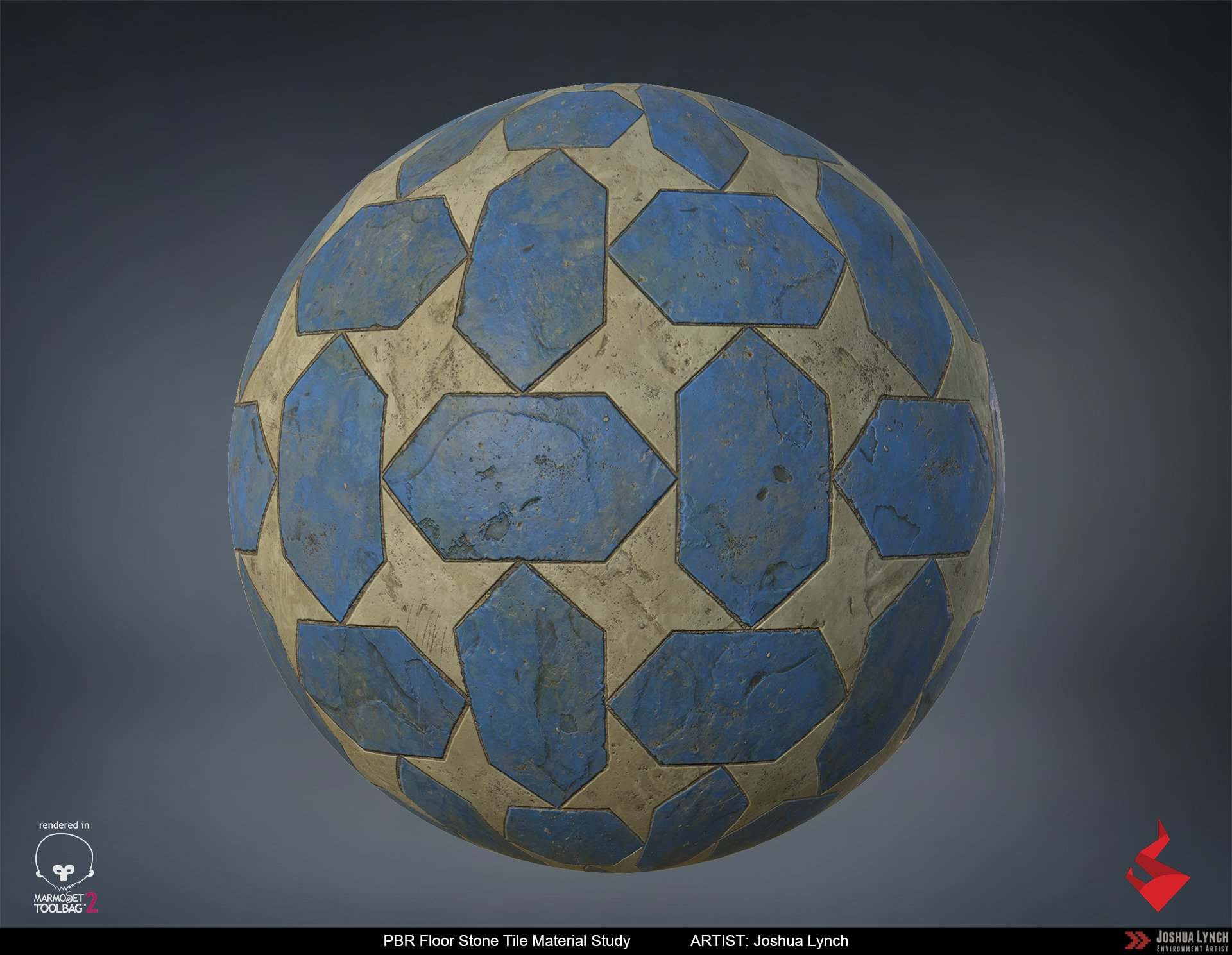 Joshua lynch floor stone tile sphere layout comp josh lynch
