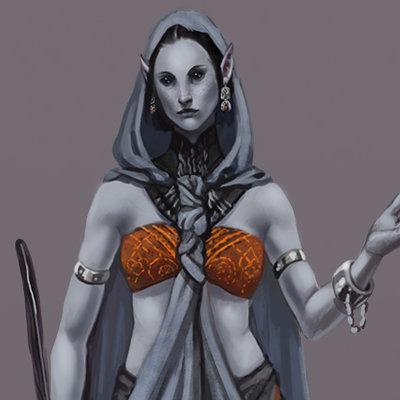 Loles romero dark elf cleric