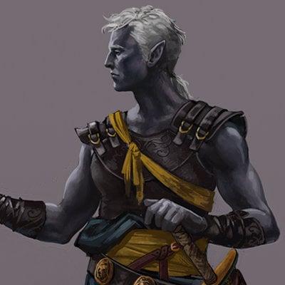 Loles romero dark elf warrior