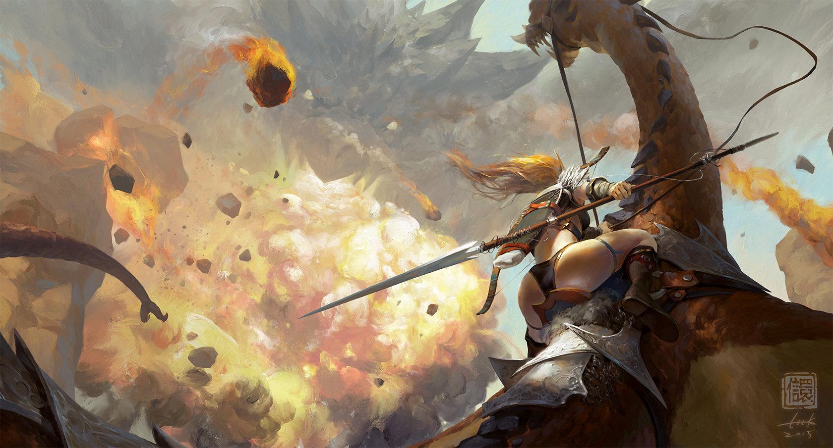 Kan liu 666k dragon hunting 1680
