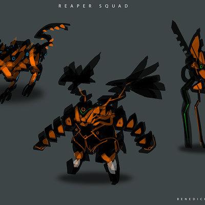 Benedick bana reaper squad2