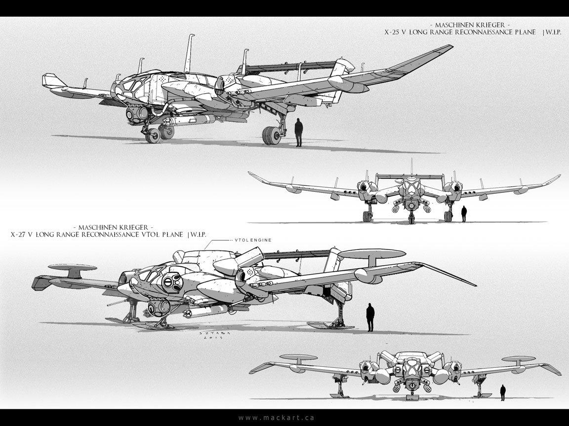 Reconnaissance Planes