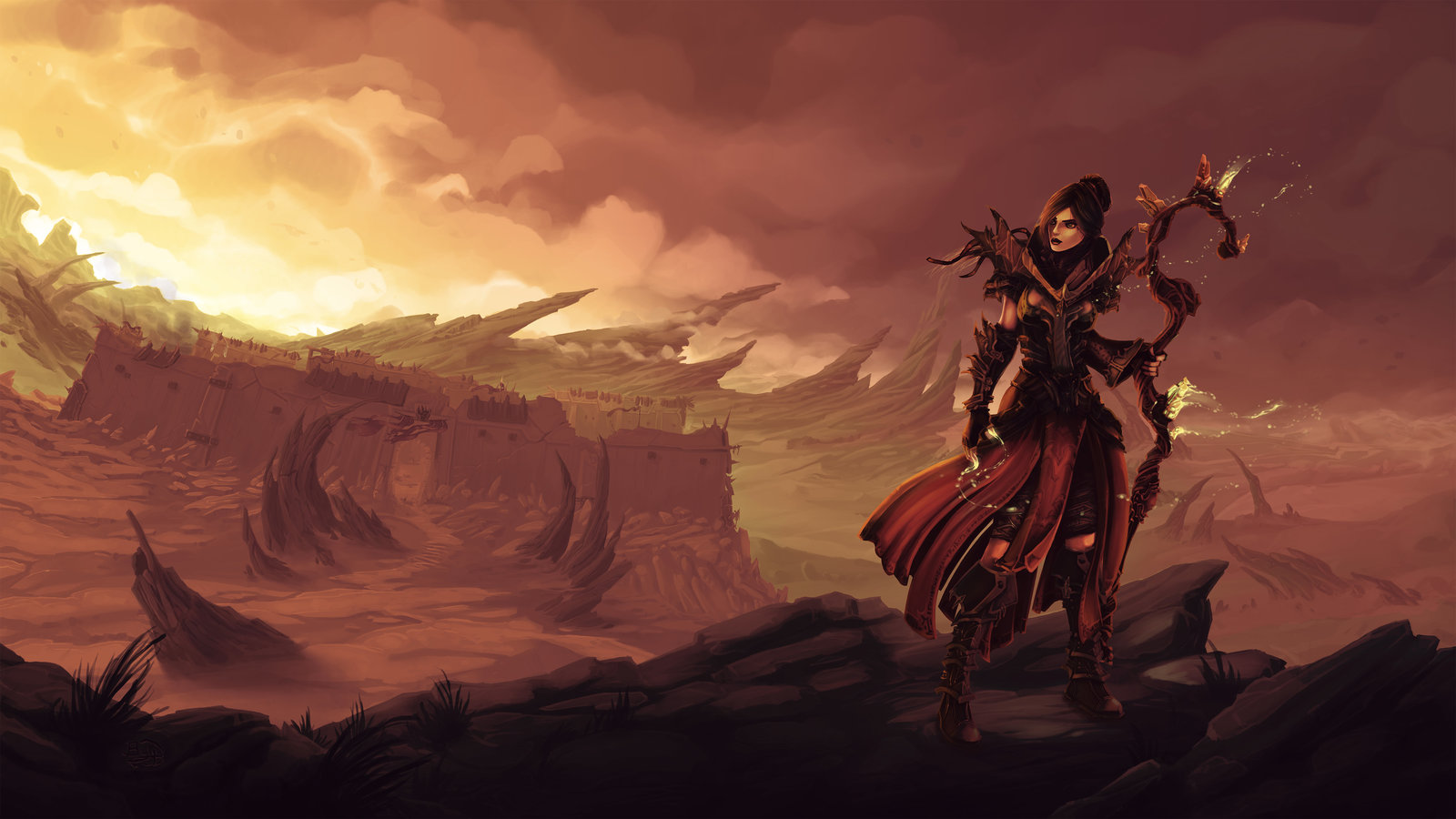 Aelya, Kehjistan's Sorceress
