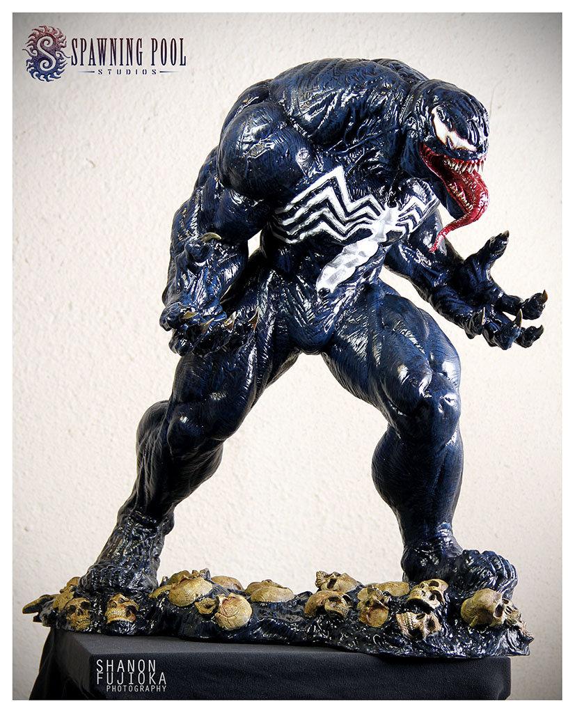 Sheridan doose spawningpoolstudios venom painted web10