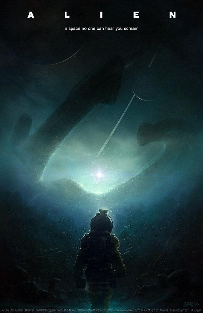 Christopher balaskas alien film tribute7aflat web