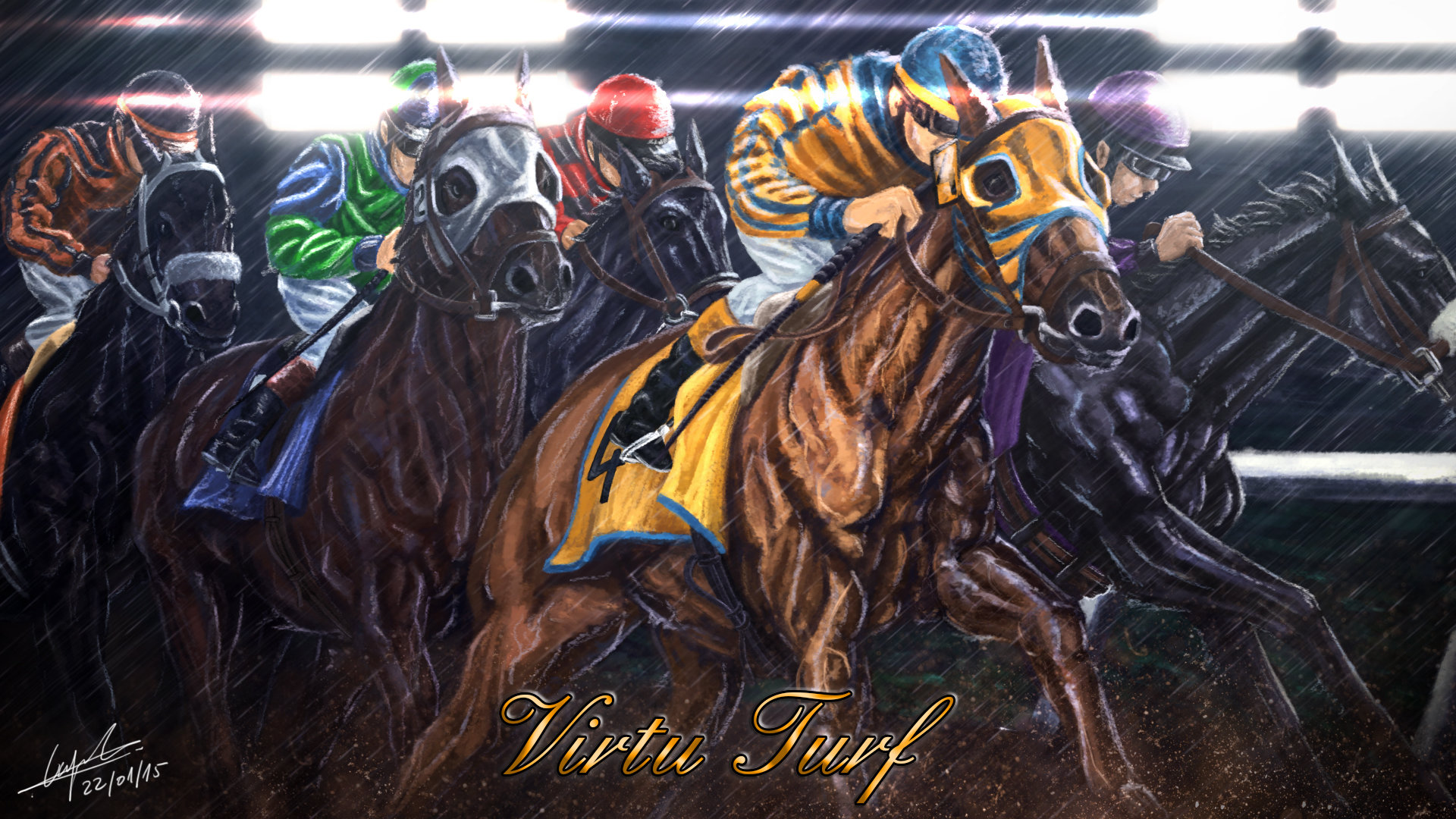 Fabien cazenabe horse artwork2