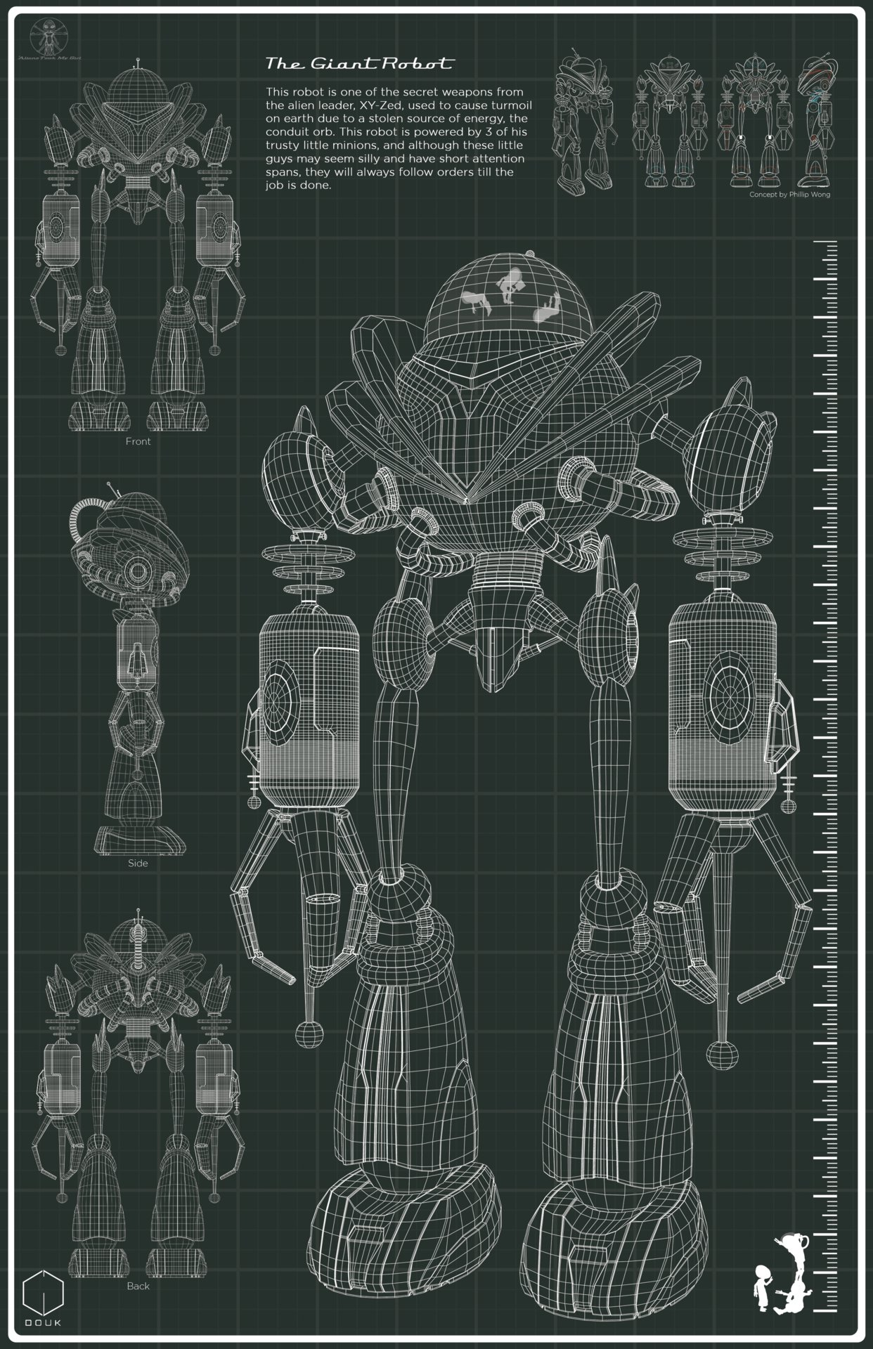 Artstation the giant robot blueprint christina douk malvernweather Images