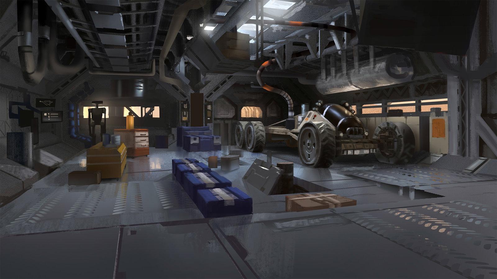 Mars Station - Maintenance Room