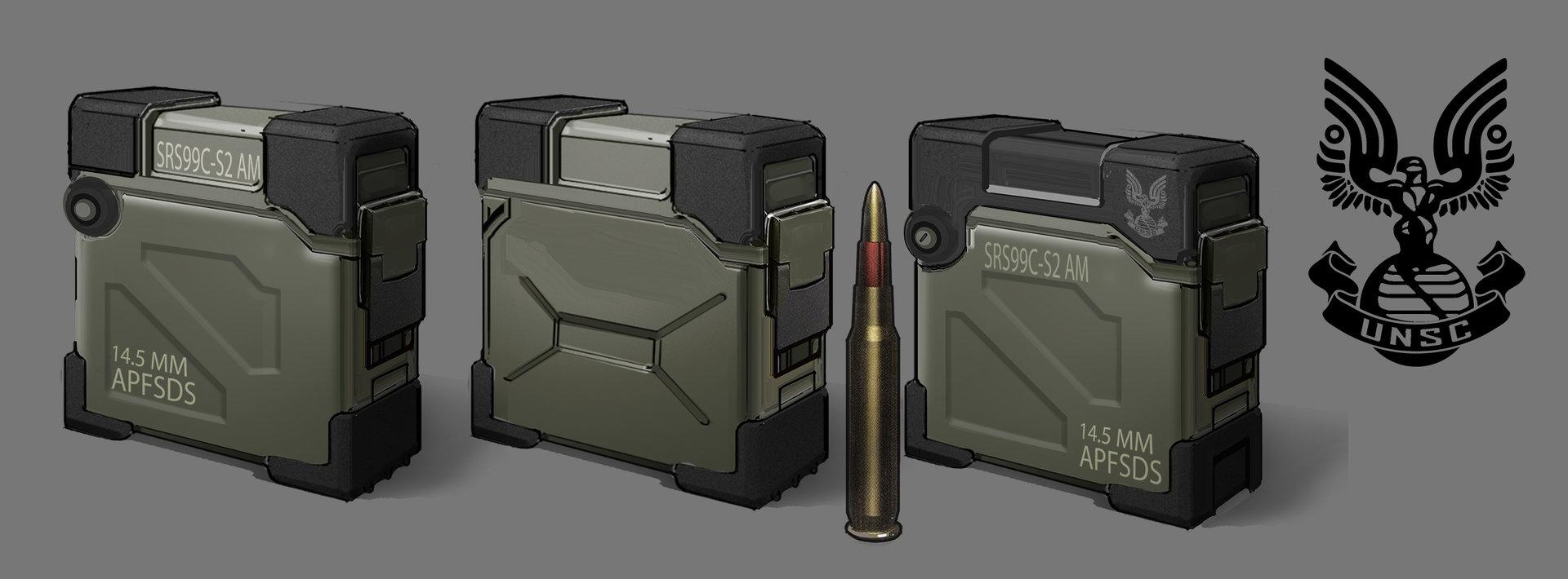 Jason borne sniper ammo pickup