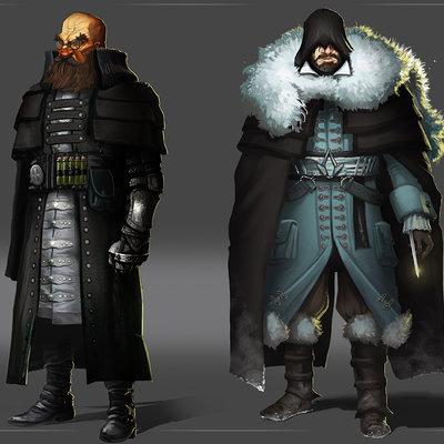 Lukas kuhn series characters
