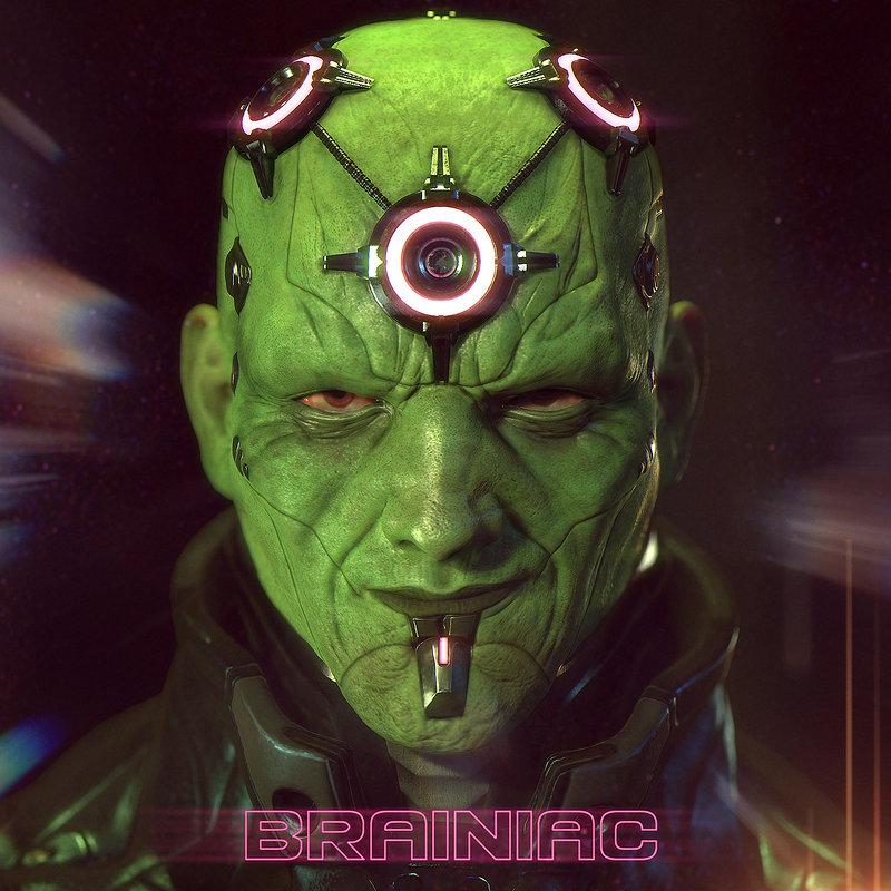 Brainiac 1st place Comicon Challengue 2014