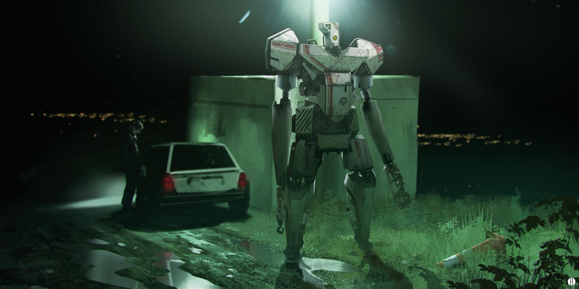 Brad wright urban robots