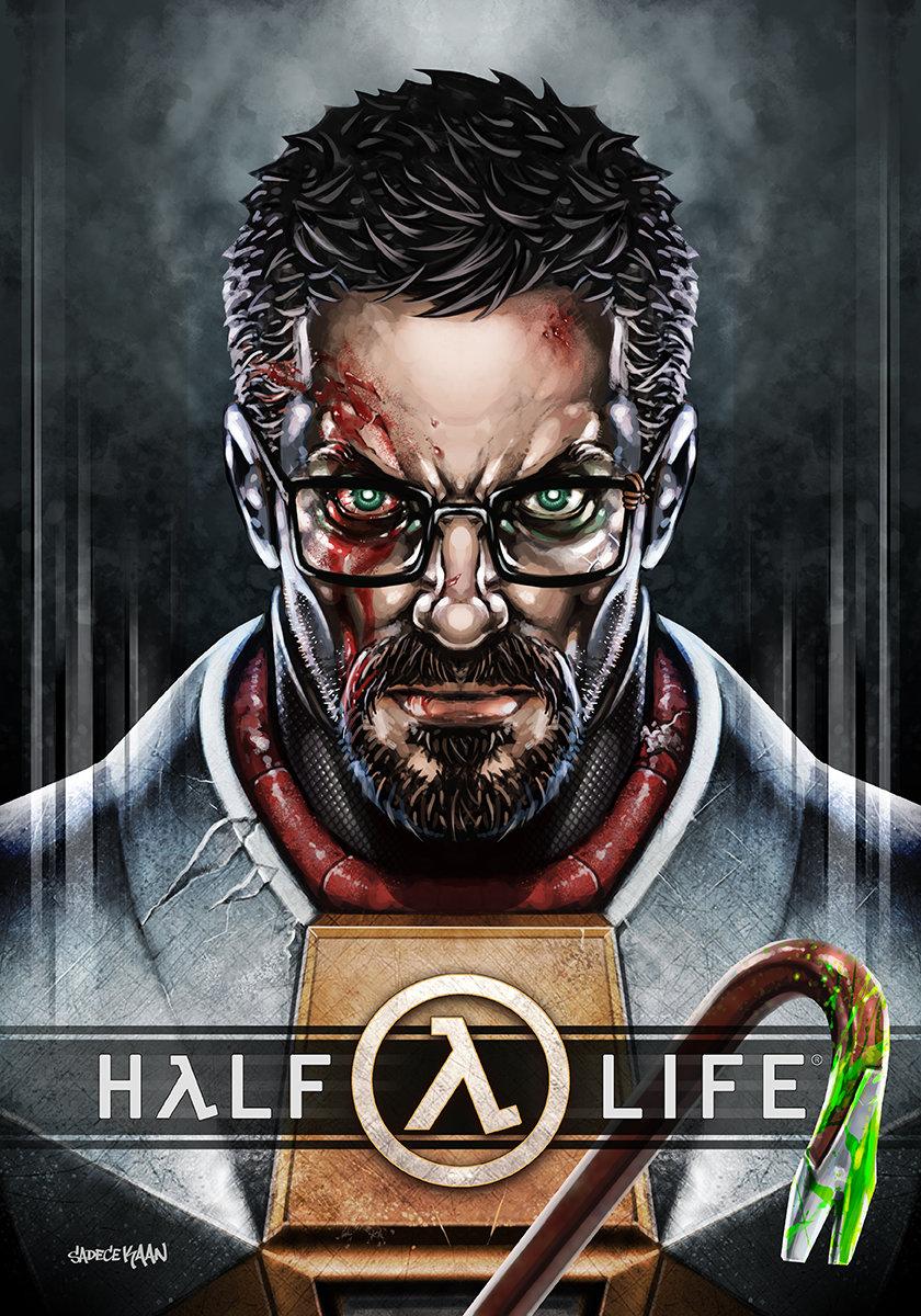 Artstation Half Life Gordon Freeman Sadece Kaan