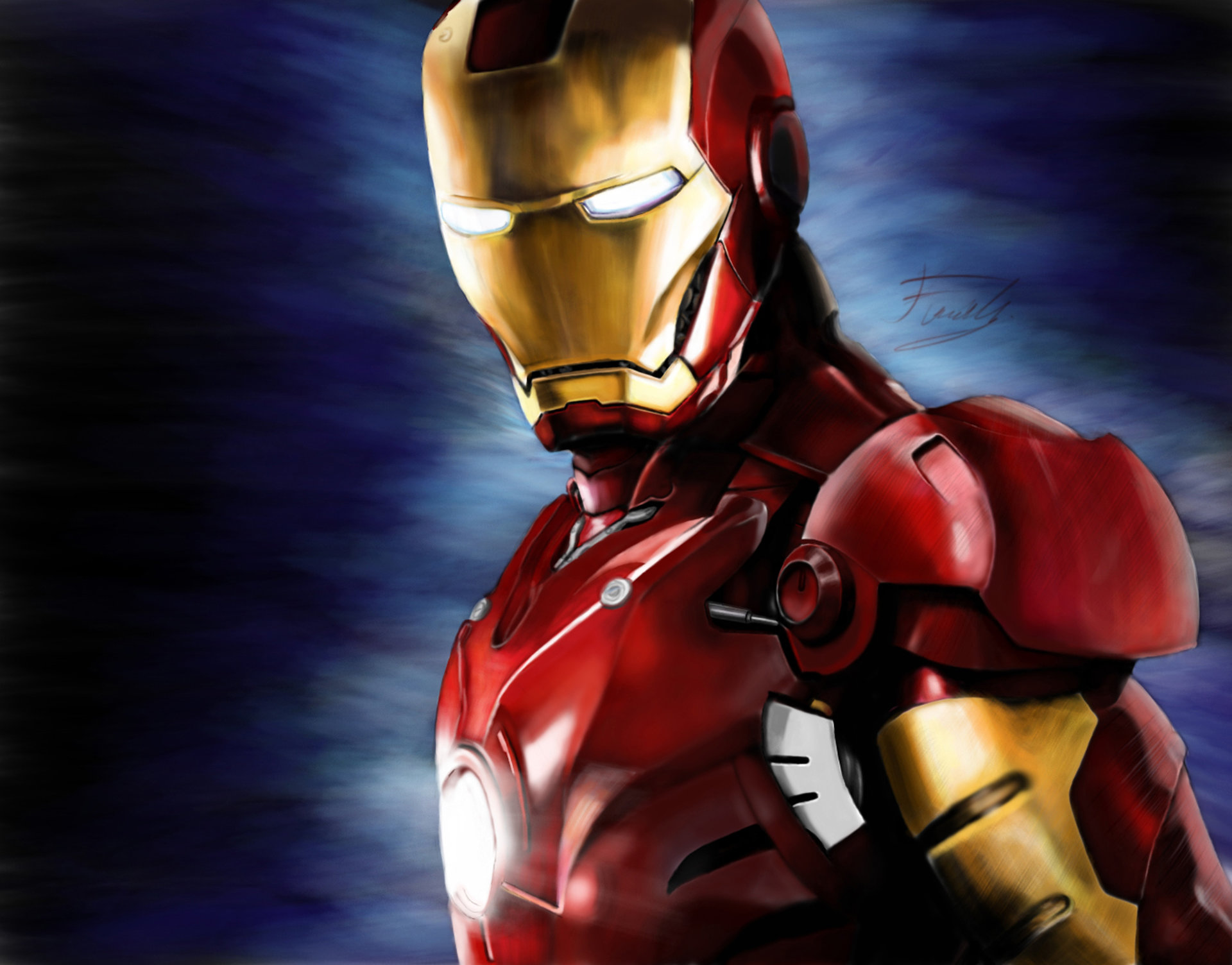 firat guler - iron man fan art