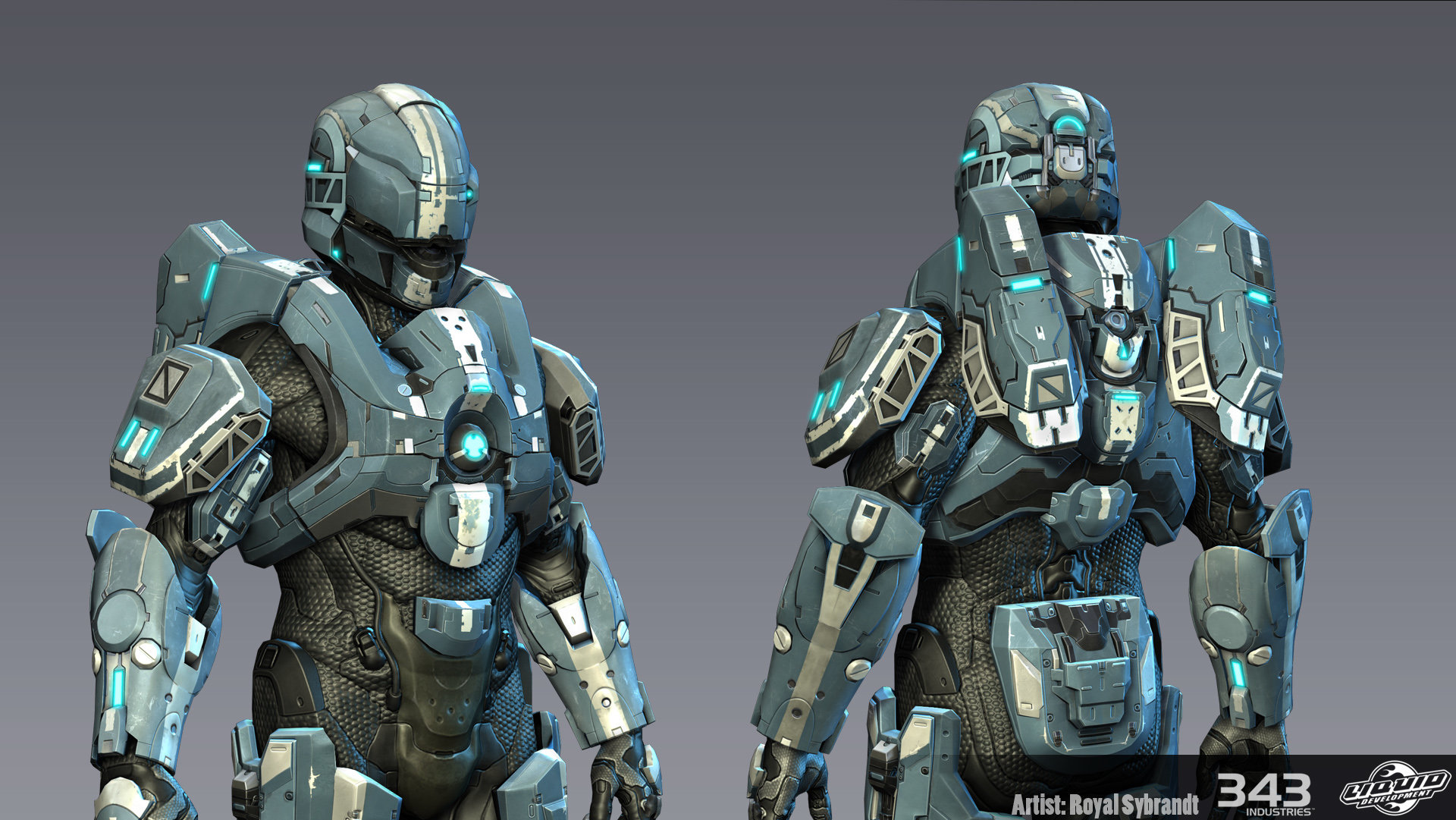 ArtStation - Halo 4 Gungnir Armor, Royal Sybrandt