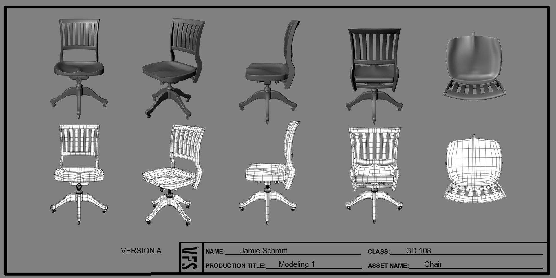 Jamie schmitt 3d108 jamieschmitt stilllife chair fin