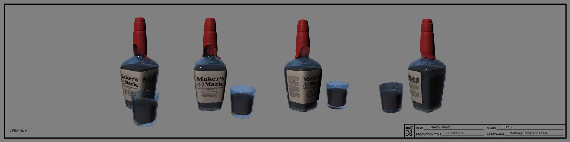 Jamie schmitt 3d108 jamieschmitt stilllife whiskey textured fin