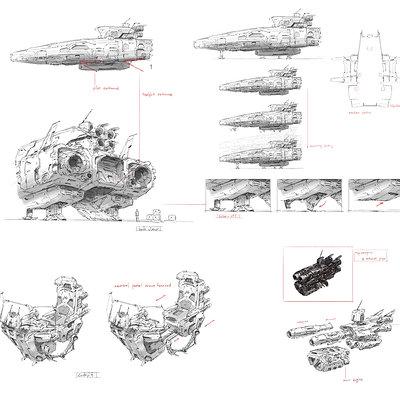 J c park space ship concept007 2