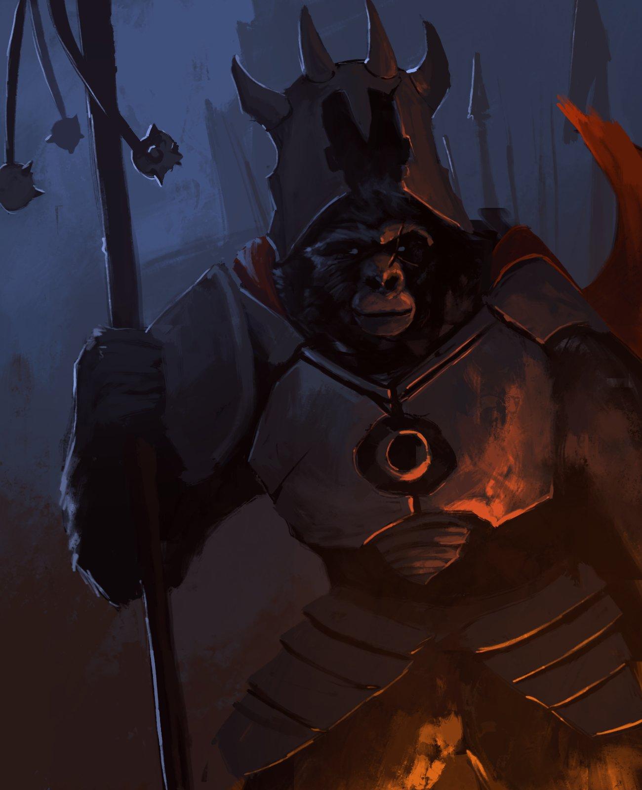Kerim akyuz gorilla general by kerimakyuz d7bcetv