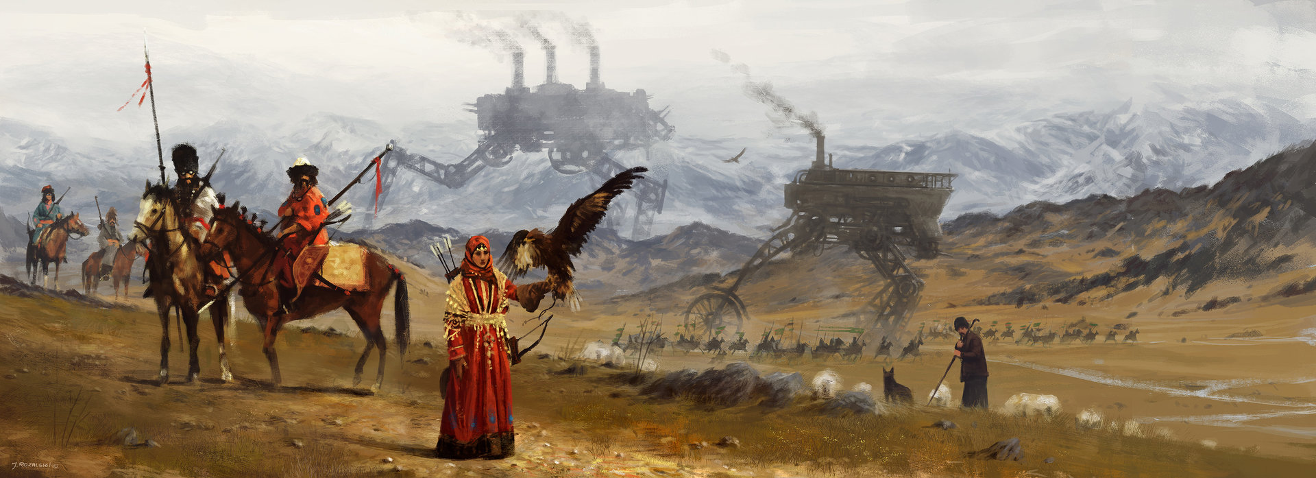 Jakub rozalski player mat crimea small