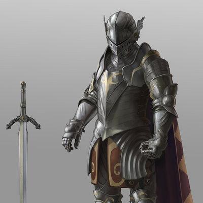 Andrea tentori montalto knight concept