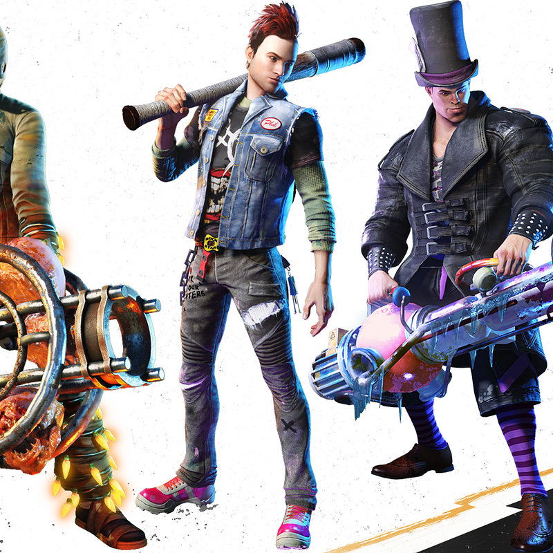 Sunset Overdrive - Player Characters