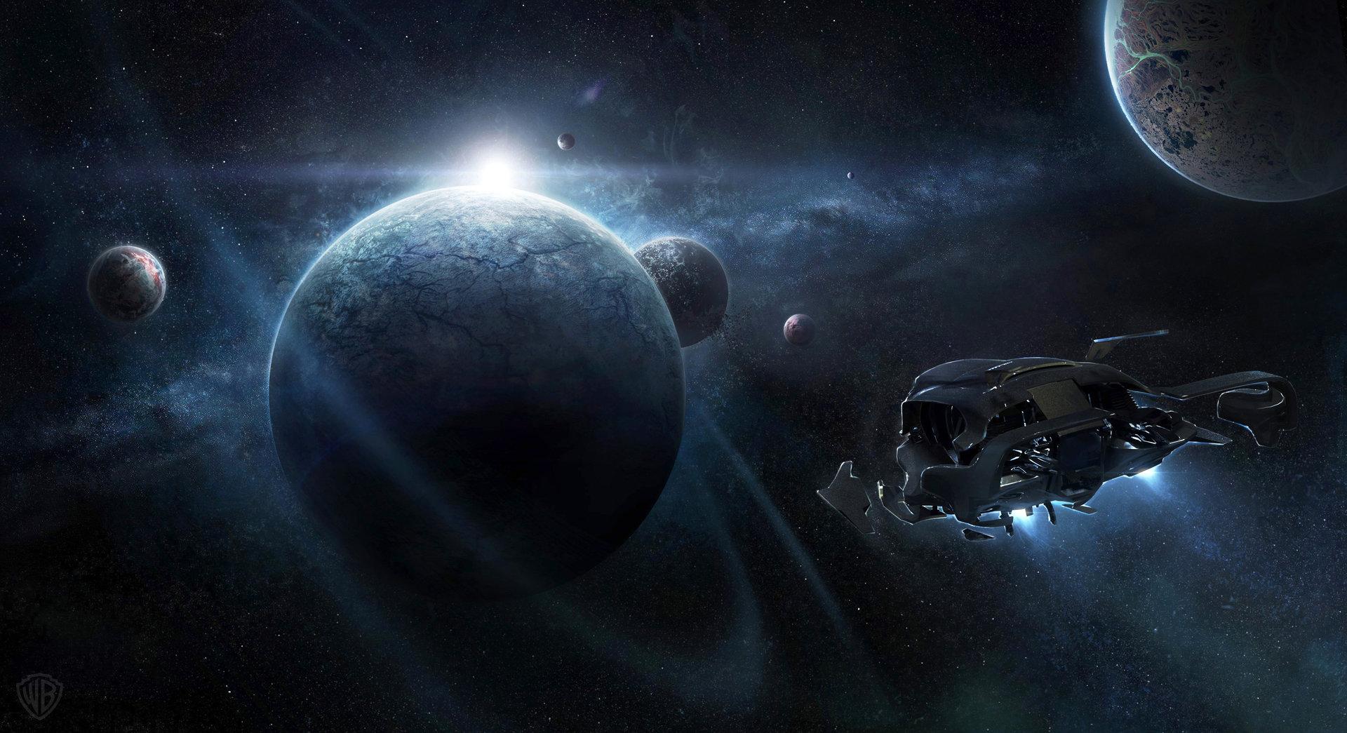 Artstation Jupiter Ascending Approaching Planet Jonas