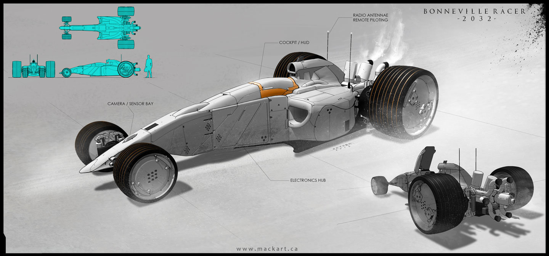 Bonneville Racer 2.0