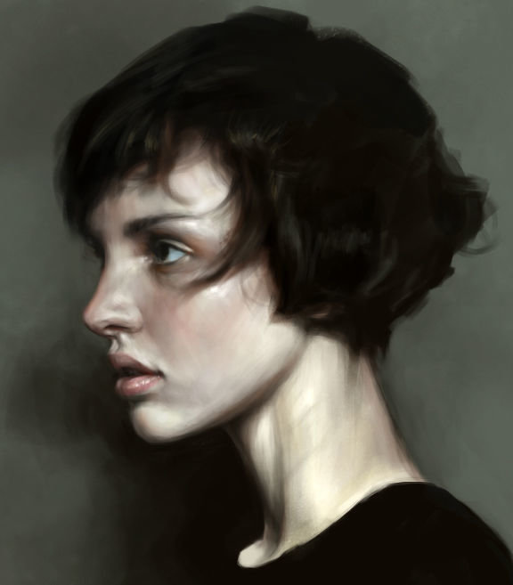 ArtStation - Short Hair, Mohamed Gambouz