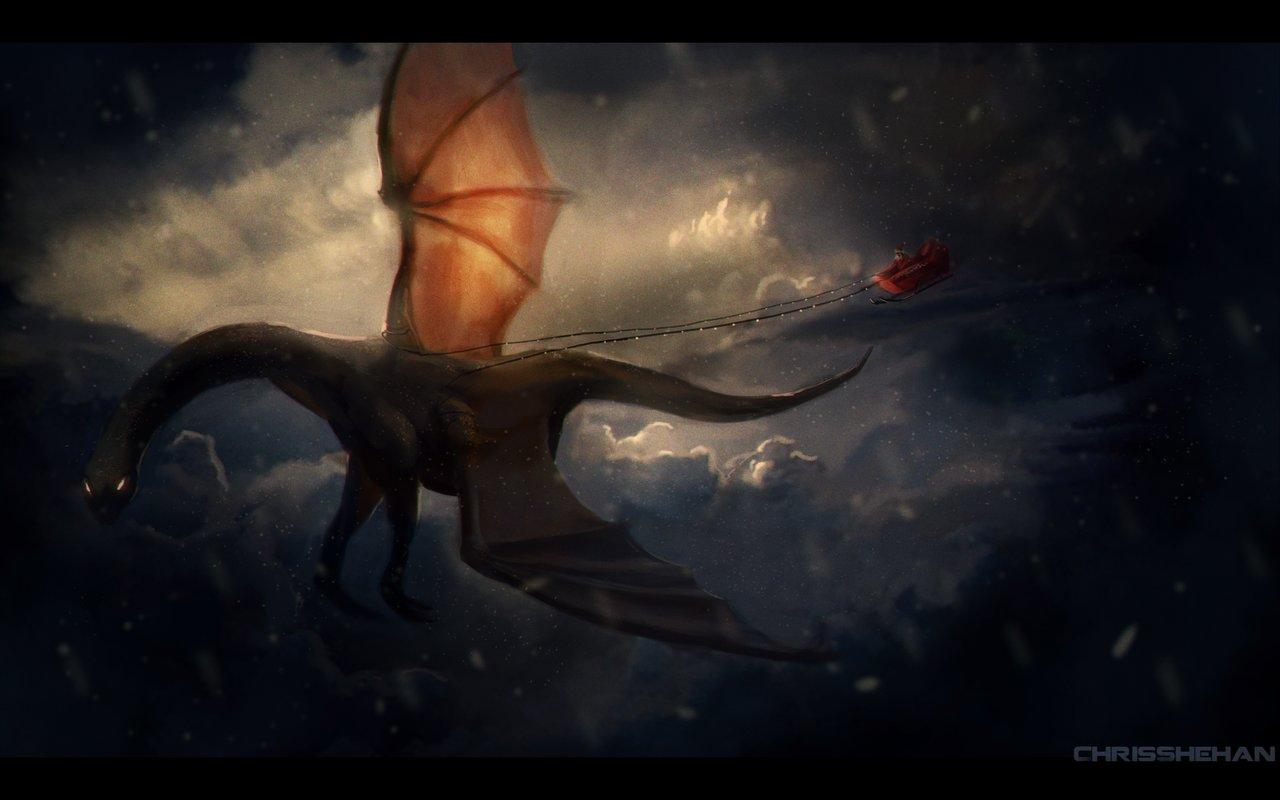 Chris shehan dragon claus by zhourules d5oxymv