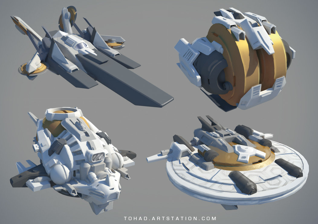 Spaceships prototypes