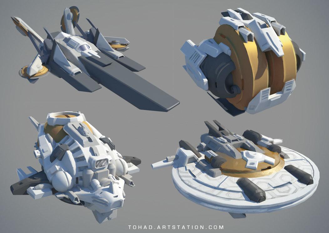 Spaceships prototypes
