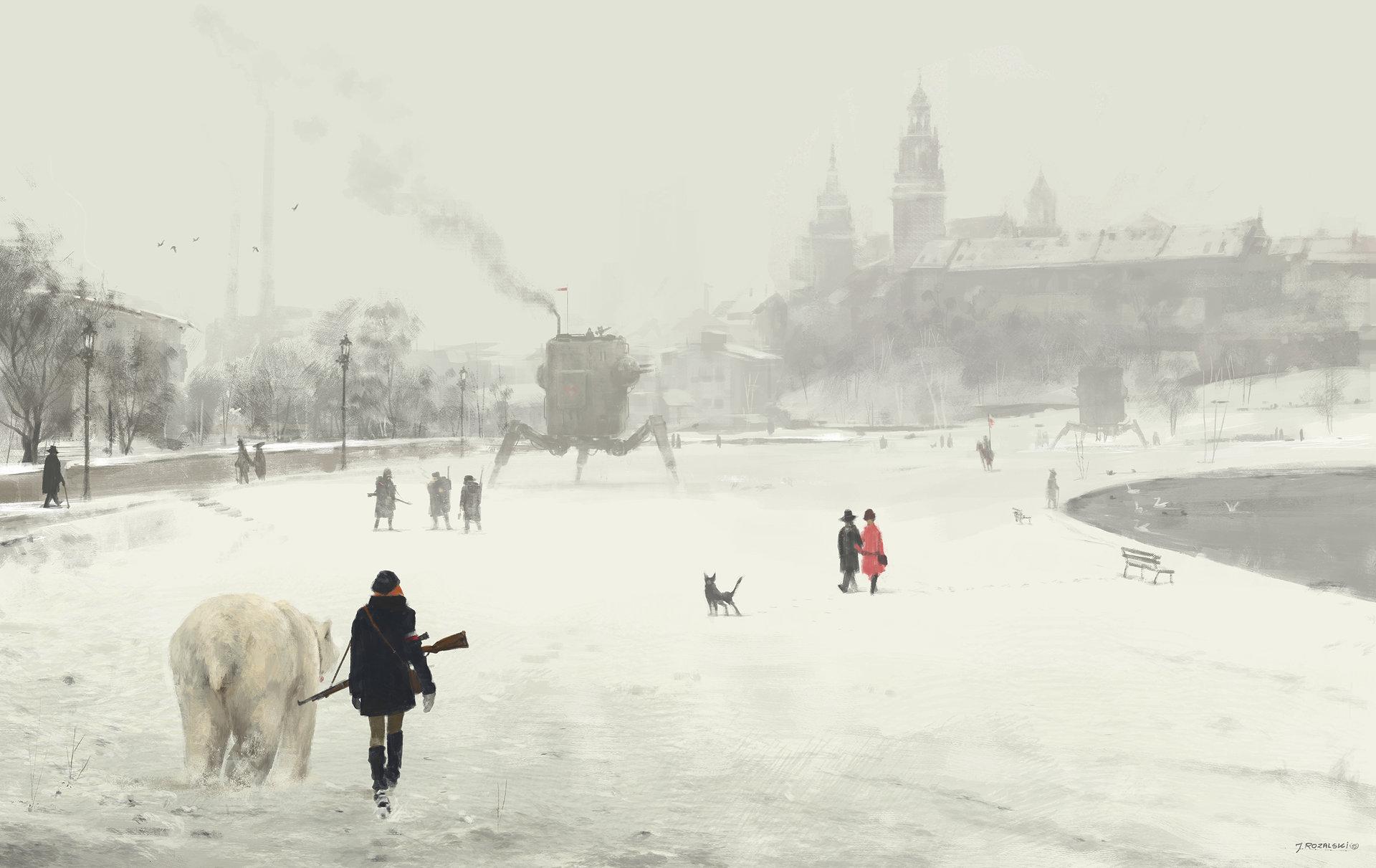 Jakub rozalski 1920 krakow art1