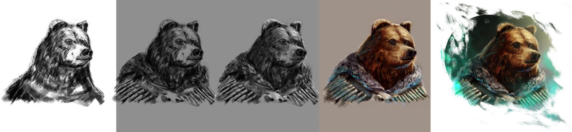 Konrad langa bear bone steps