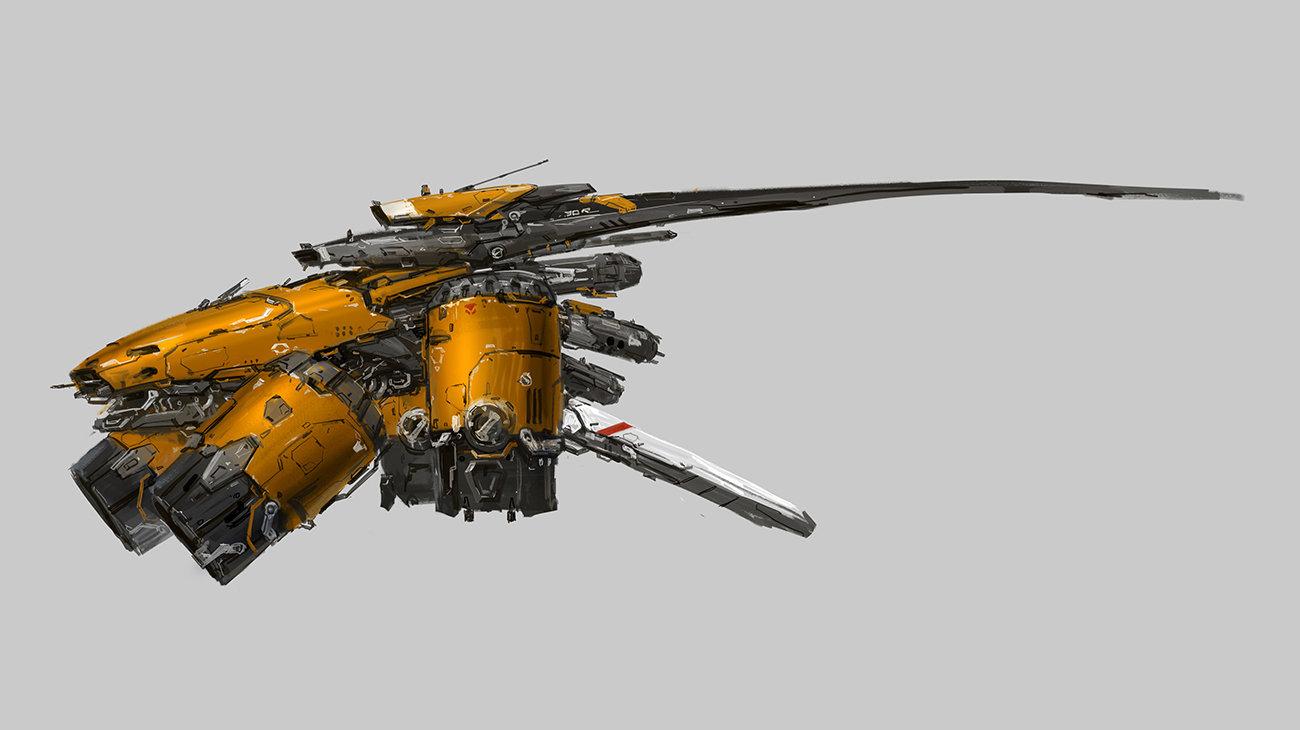J c park space ship conceptn