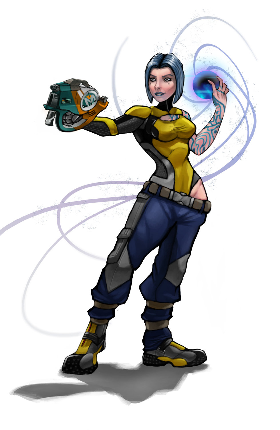 Gregory Salapack - Maya the Siren from Borderlands 2