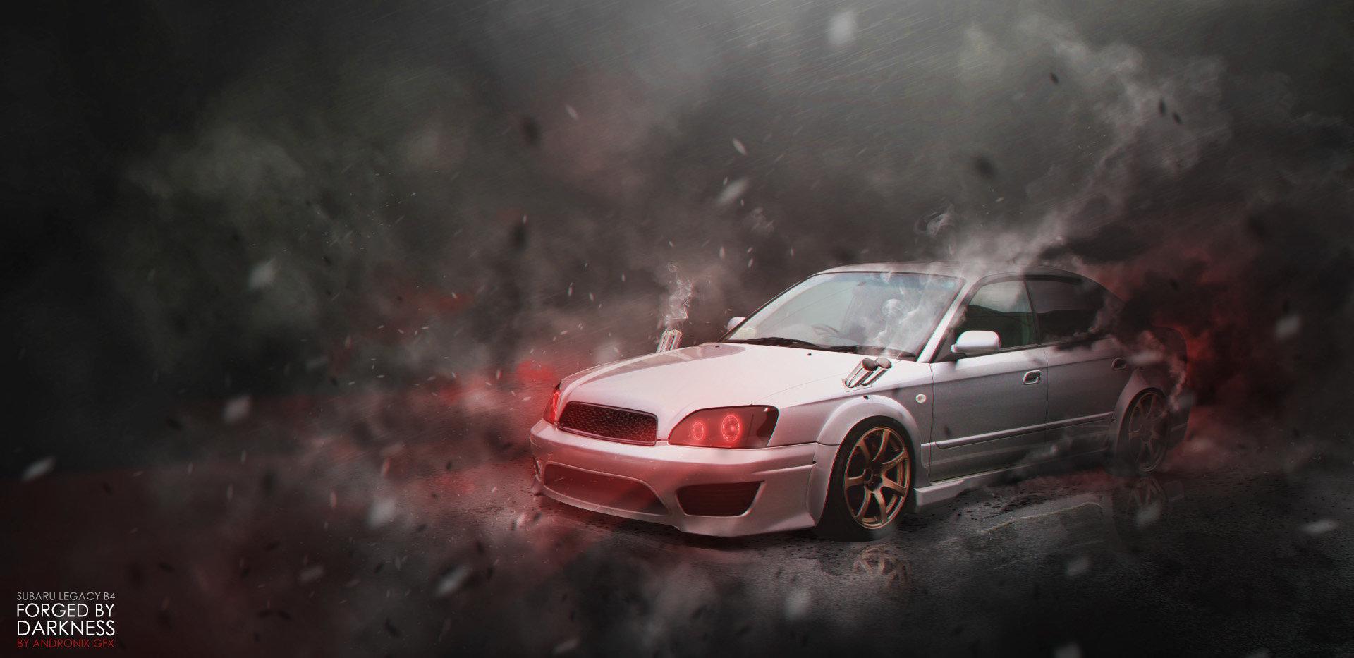 Artstation Forged By Darkness Itself Subaru Legacy B4 Andrew