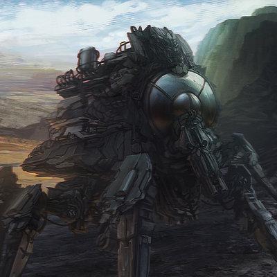 Alexander gorisch paint sci fi 10