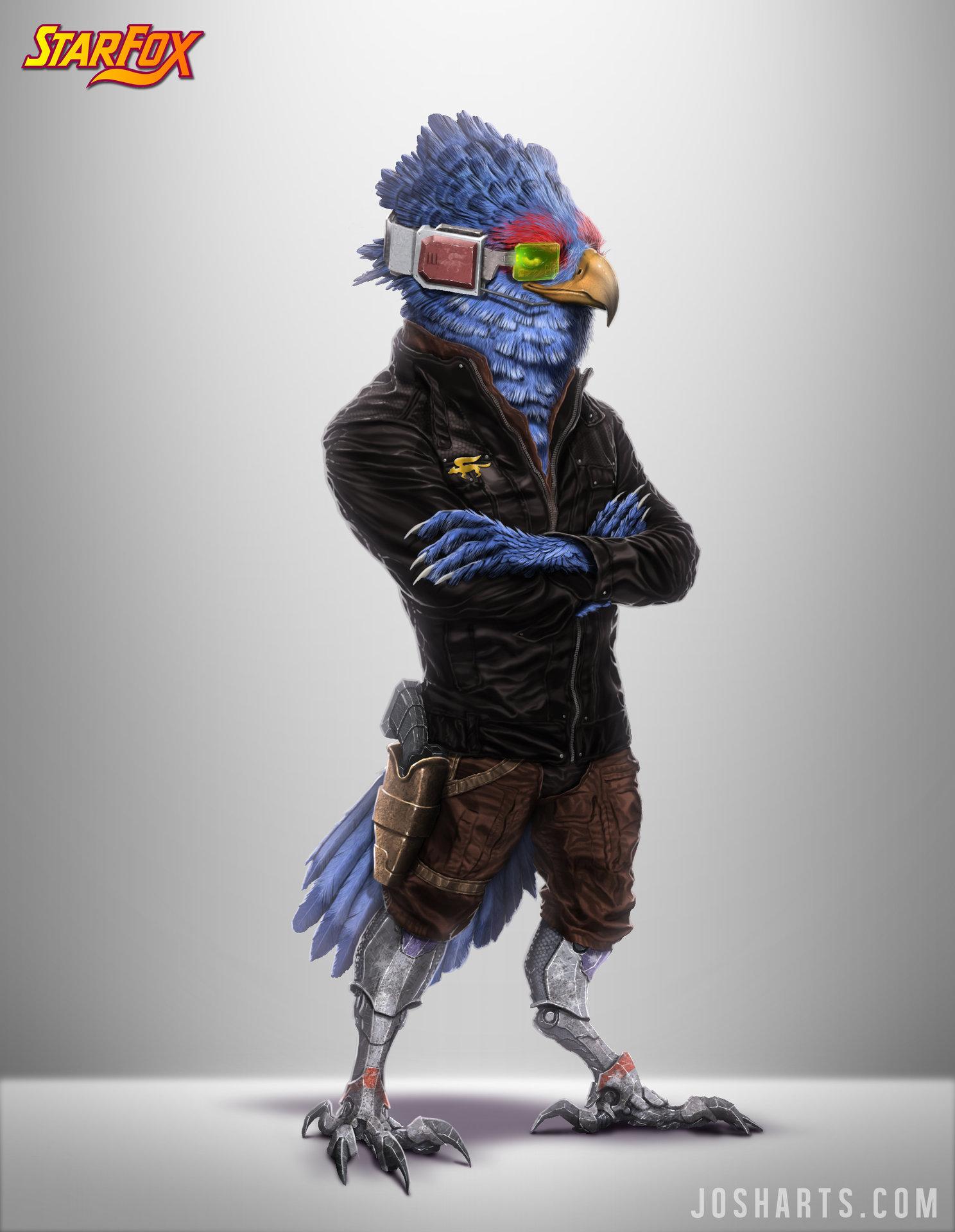 Josh matts char falco visor