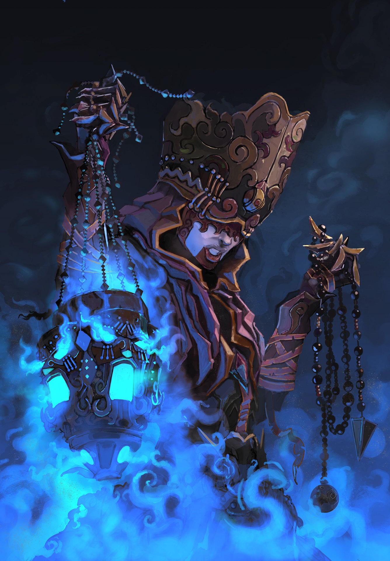 Alvaro cardozo witch soul reaper colour