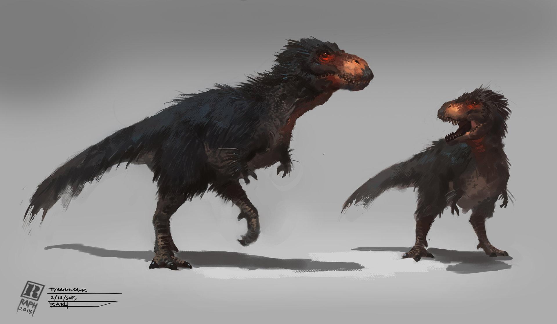 Raph lomotan tyrannosaurusrex