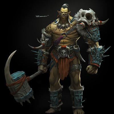 Zeen chin tribal orc