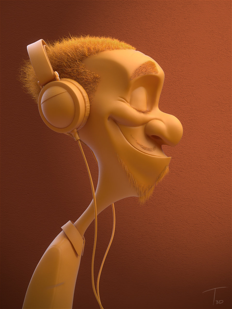 Headphone dude