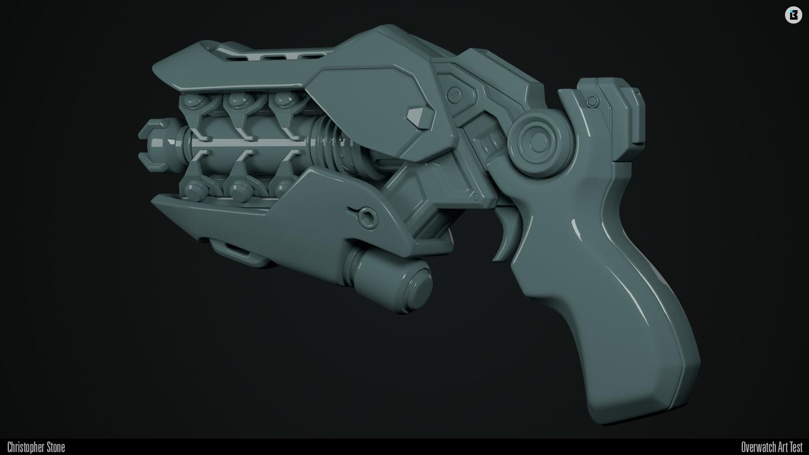 High-poly render