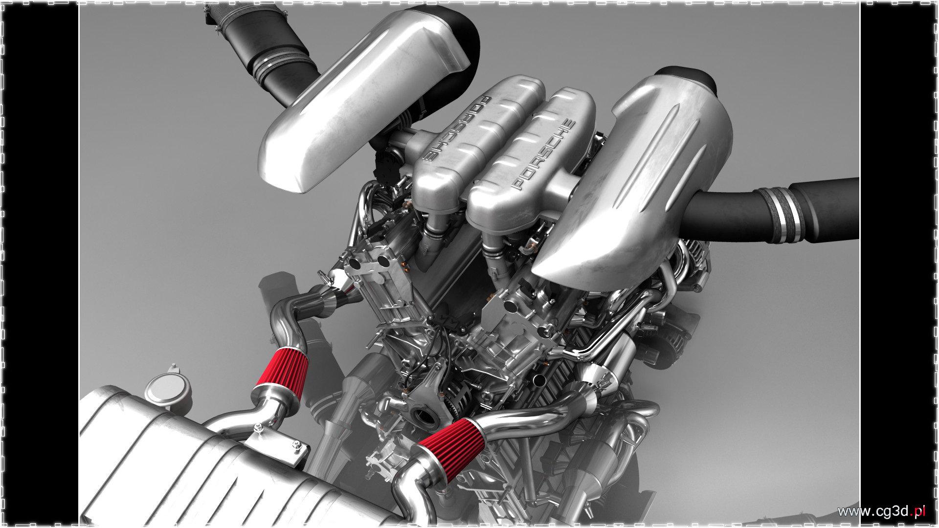 Artur Perzyna Porsche Carrera Gt V10 Engine